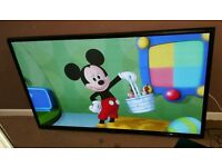 Lg 50 inch super slim line HD tv excellent condition fully working with remote control