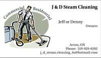 J & D Steam Cleaning Special $79.00 3 Rooms!!