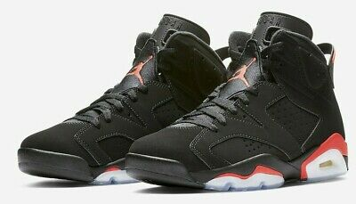 Nike AIR JORDAN 6 RETRO 384664-060 'INFRARED BLACK' 2014 sz 9.5, 11, 12