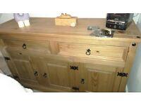 Sideboard/TV Unit/Coffee Table - Corona Style Wooden