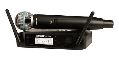 New Shure GLX-D Digital Wireless System Beta58A Authorised Dealer Best Deal