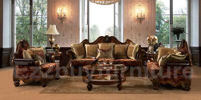 Victorian Style 3 Piece Sofa Set  Sofa  Love  Chair