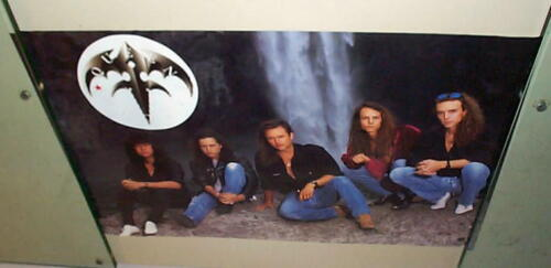 QUEENSRYCHE Vintage Group POSTER