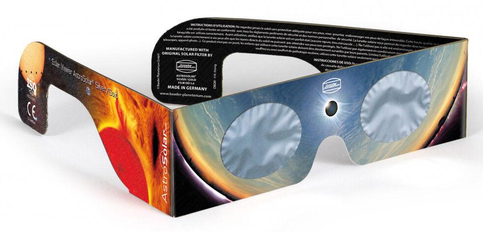 Sonnenfinsternis Sofi Brille Astro Solar Viewer Sonnenschutz Schutzbrille Sonne