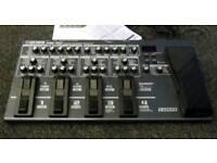 BOSS ME-80 multi effects pedal board