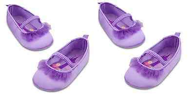 HALLOWEEN BABY/ TODDLER DISNEY STORE RAPUNZEL OR TINKERBELL SLIPPERS NWT