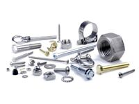 Swap large variety of fixings/fastenings for the machining of small aluminium parts.