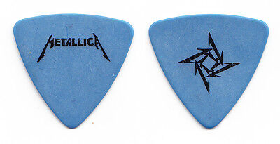 Metallica Jason Newsted Blue Ninja Star Bass Guitar Pick - 1996 Tour