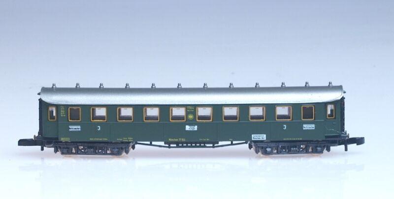 8731 Marklin Z-scale early Era passenger car DRG THIRD CLASS Hamburg-Stuttgart
