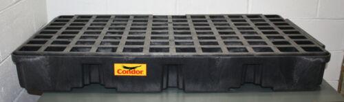 Condor Drum Spill Containment Platform 1632BC, 30 Gallon Spill Capacity, Tray