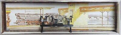 """Merten 2268 - Z-Scale """"Locomotive Personal/Workers"""" Figure Set NOS"""