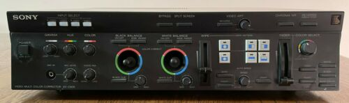 Sony  XV-C900 Video Multi Color Corrector with owners manual - Tested