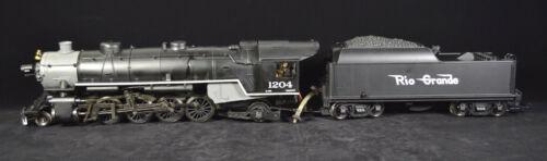 AristoCraft ART 84103 Live Steam Mikado Rio Grande 1204 2-8-2 Locomotive