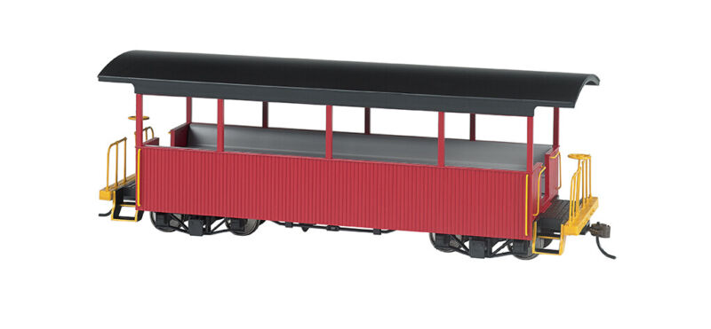 Bachmann 26004 On30 Excursion Car Burgundy with Black Roof