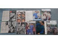 Vintage, retro, 1950-1980s knitting patterns, women men, baby, children
