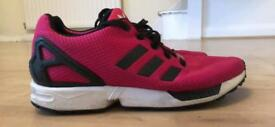Size 6 pink females trainers