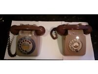 Telephones (Bakelite) for Sale x 2 £45.00 for both (ONO)