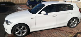 BMW 1 series LOW MILEAGE Alpine White