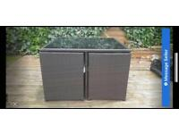 Rattan Garden Set, Hardly Used SOLD NOW