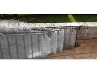 Railings wall mounted lengths