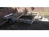 Car transport trailer
