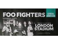 Foo Fighters ticket general admission