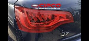 2010, 2011, 2012, Audi Q7 Left Driver Side or Right Passenger Side OE, OEM Back Tail Light, Lamp Assembly Replacement