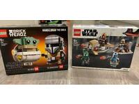 Star Wars the mandalorian Lego sets (brand new)