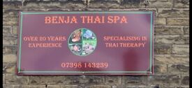 New - BENJA Thai Spa - Brighouse Town Centre