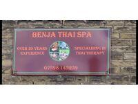 New Ladies - BENJA Thai Spa - Brighouse Town Centre