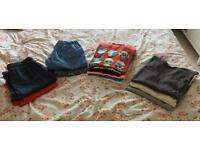 Boys Shorts (x4), T-shirts (x6), Long Sleeve Tops (x3) Age 14-15 Clothes Bundle All Next