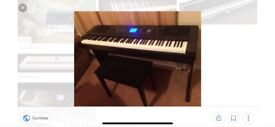 Yamaha GDX-650 for sale oirtable grand piano, barely used, excellent condition. Only £450.00