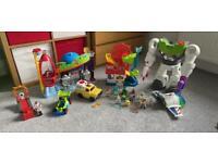 Massive toy story imaginext bundle