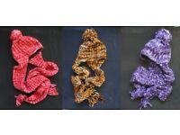 Warm, fleece-lined Nepalese yak wool: slipper-socks, gloves, mittens, hats, beanies...