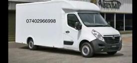 Big van and reliable Man