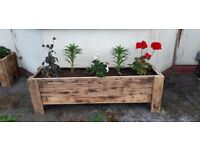 Custom made large planters