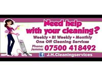 Domestic cleaning services through RCT area. J.H.CleaningServices