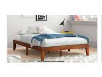 NEW King Size Platform Bed RRP £260