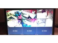 CCTV with Monitor