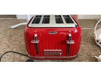 Breville red toaster