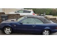 Mercedres clk 240 all good apart from roof new geatbox