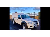09 model very rare single cab ford ranger 26k yes 26k lowest miles in Britain 1 owner ex council