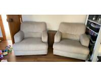 Park Furnishers arm chairs