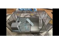 Hamster Cage , Assault Course & Wheel