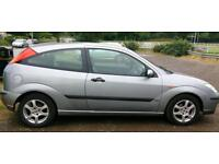 Ford Focus 1.6 petrol 2002 Leather long mot mint condition