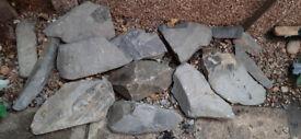 Welsh Slate Rockery Stones