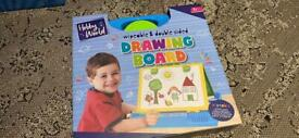 Brand new wipeable & double sided drawing board