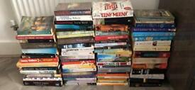 85+ fiction/non-fiction books (see pics) 90% brand new