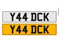 Y44 DCK - Private Registration Plate