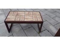 Mid Century Danish Style Tiled COFFEE TABLE